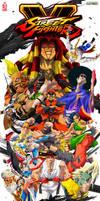 Street Fighter V v2 by ZehB