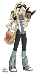 Pokemon Trainer Anna by viandi