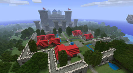 Final Fantasy I in Minecraft by Sir-Beret