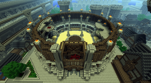 Imperial City Arena minecraft by Sir-Beret