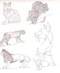 Sketchbook 2 by cougartiger