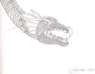Dragon Head by cougartiger