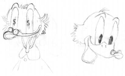 Scrooge McDuck - 1 by Charlie-Fan