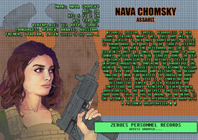 Nava Chomsky Character Sheet by Essig-Peppard
