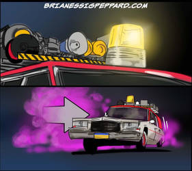 Ghostbusters Promo Storyboards - COLOR by Essig-Peppard