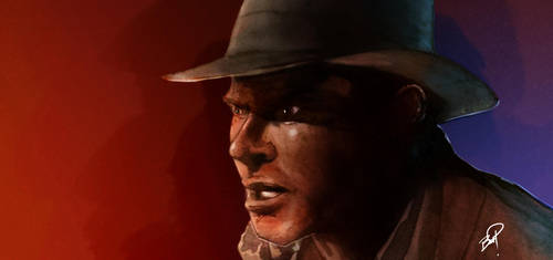 Indiana Jones Color Light Study by Essig-Peppard