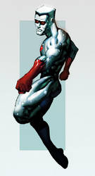 Captain Atom Colours by CMGfx