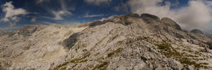 Panorama in the Alps by getupp