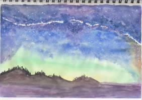 Starry night by getupp