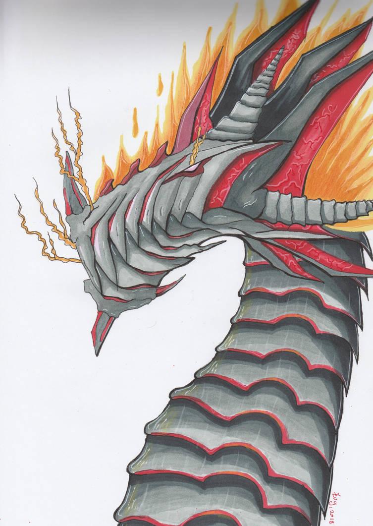 Fire dragon by getupp