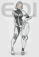 EDI heavy armored N7 by AmeDvleec