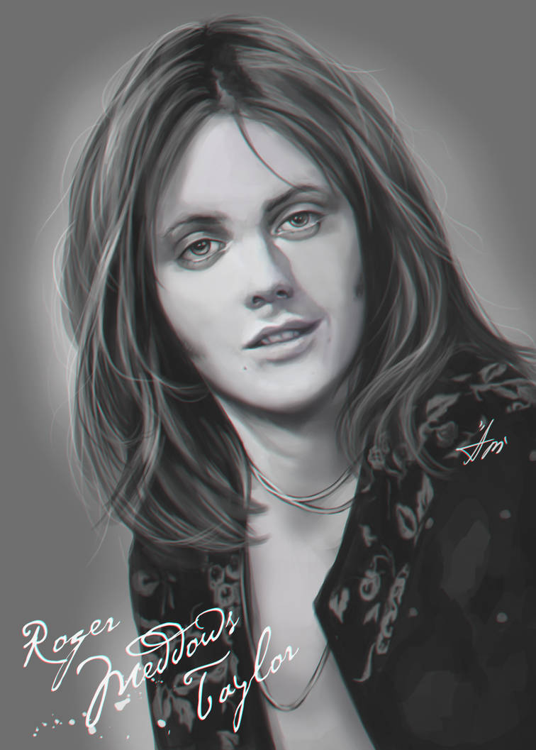 Roger Taylor by AmeDvleec