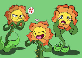 Cagney carnation - Cuphead by Mmikan