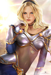 Lux The lady of luminosity by LaikenDesignz