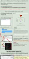 deviantID widget box customization tutorial by CypherVisor