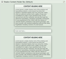 Shadow Content-holder box (Default) by CypherVisor