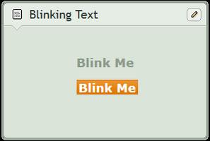 Blink everything! by CypherVisor