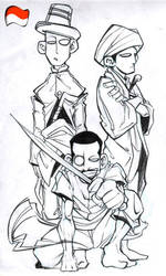 Justice League Indonesian by indonesia