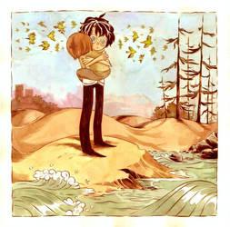 On The Beach Rosellas Screech by moosekleenex