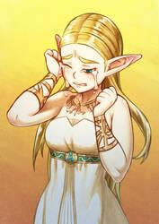 Princess Zelda by kjech