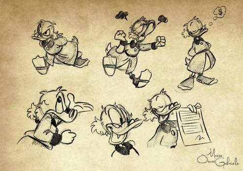 Scrooge McDuck by MarioOscarGabriele