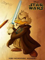 Obi Scrooge Kenobi by MarioOscarGabriele