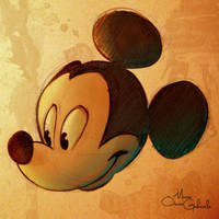 Mickey Mouse by MarioOscarGabriele