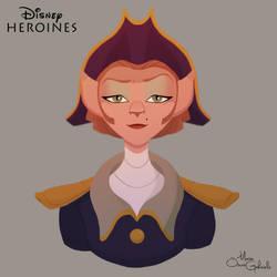 Captain Amelia by MarioOscarGabriele