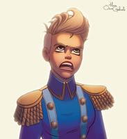 Random female character by MarioOscarGabriele