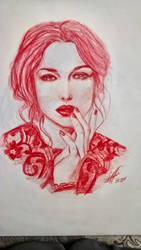 Monica Bellucci by arman-hovhannisyan