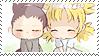 Stamp -Naruto- ShikaTema (Chibi) by PJXD23
