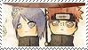 Stamp -Naruto- PainxKonan (Chibi) by PJXD23