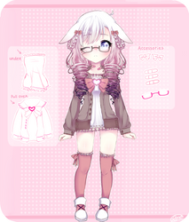 .:Mimi Reference Sheet:. (OLD) by Lisettle