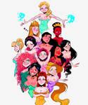 Disney Princess by lukas9876