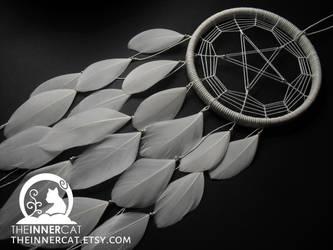 Pentagram Dream Catcher (White) by TheInnerCat