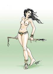 Amazon Girl by mvitacca