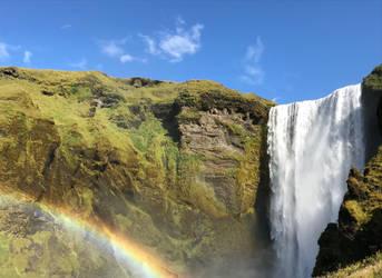 Skogafoss Rainbow by truewill