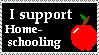 I Support Homeschooling by ptsluvsnfl
