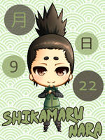 09/22 - Shikamaru Nara by SeigyokuPrincess