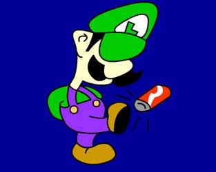 Kicks for Luigi by Lunar117