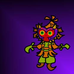 Paper Skull Kid by Lunar117
