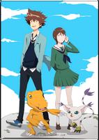 Digimon Tri by Ruu-k