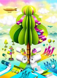 Magic Tree by yofikus