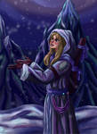 First snow by Io-Zoi
