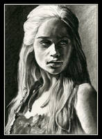 Khaleesi by thewholehorizon