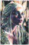 Daenerys Targaryen by thewholehorizon
