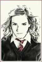 Hermione Granger by thewholehorizon