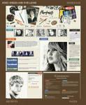 Jenny-Jenkins.com Web Layout by thewholehorizon