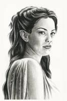 Arwen Undomiel by thewholehorizon
