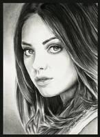 Mila Kunis by thewholehorizon